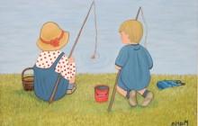 Nens pescant (rèplica Torné-Esquius)