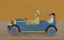 Passeig en cotxe