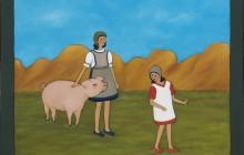 Porc ensurt (rèplica Pere Torné-Esquius)
