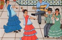 Bailando Sevillanas I