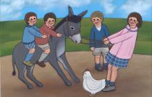 El burro tozudo