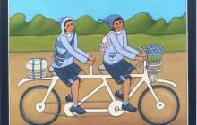 Tandem pedaling