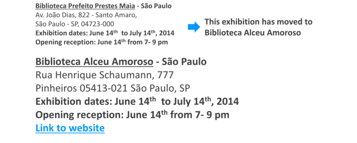 Post_Show de Bola 2014_Exhibition 3