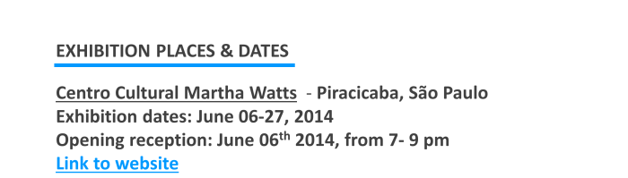 Show de Bola 2014_Martha Watts Cultural Center  in Piracicaba - São Paulo