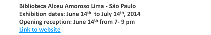 Show de Bola 2014_Biblioteca Alceu Amoroso Lima - Sao Paulo