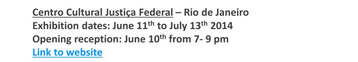 Show de Bola 2014_Centro Cultural Justiça Federal -  Rio de Janeiro