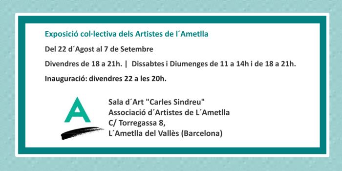 Col·lectiva Artistes de L´Ametlla Estiu 2014