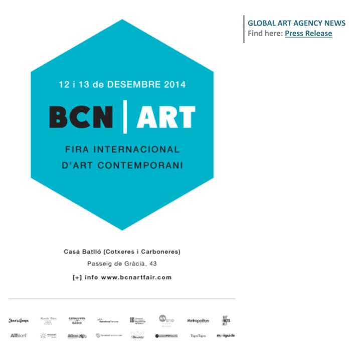 BCN ART 2014 Casa Batlló, GAA PRESS RELEASE