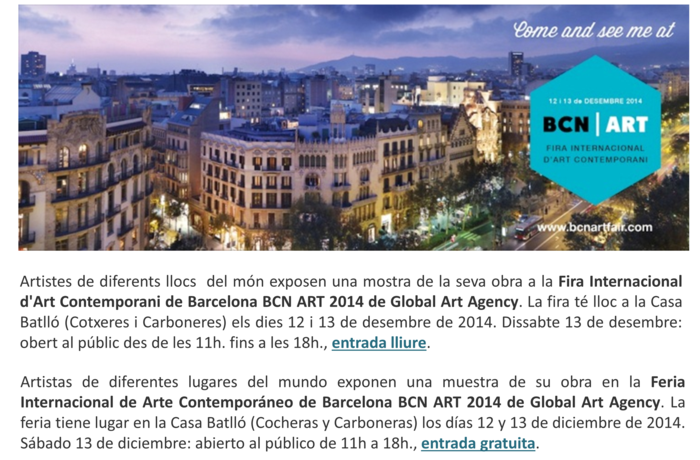 BCN ART 2014, Casa Batlló