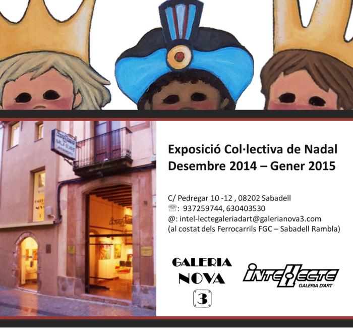 Exposició col·lectiva Intel·lecte_Nadal 2014-2015