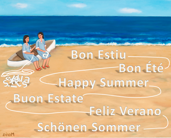 Bon Estiu - Feliz Vrano - Happy Summer 2016