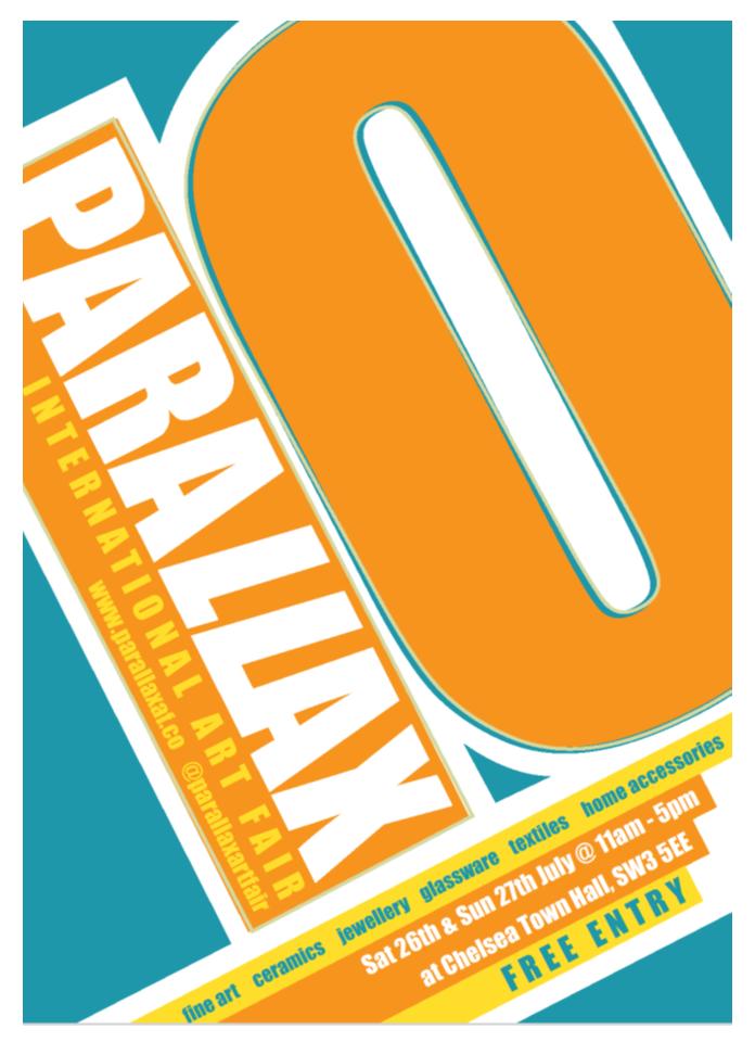 Parallax Art Fair (PAF10) July 2014