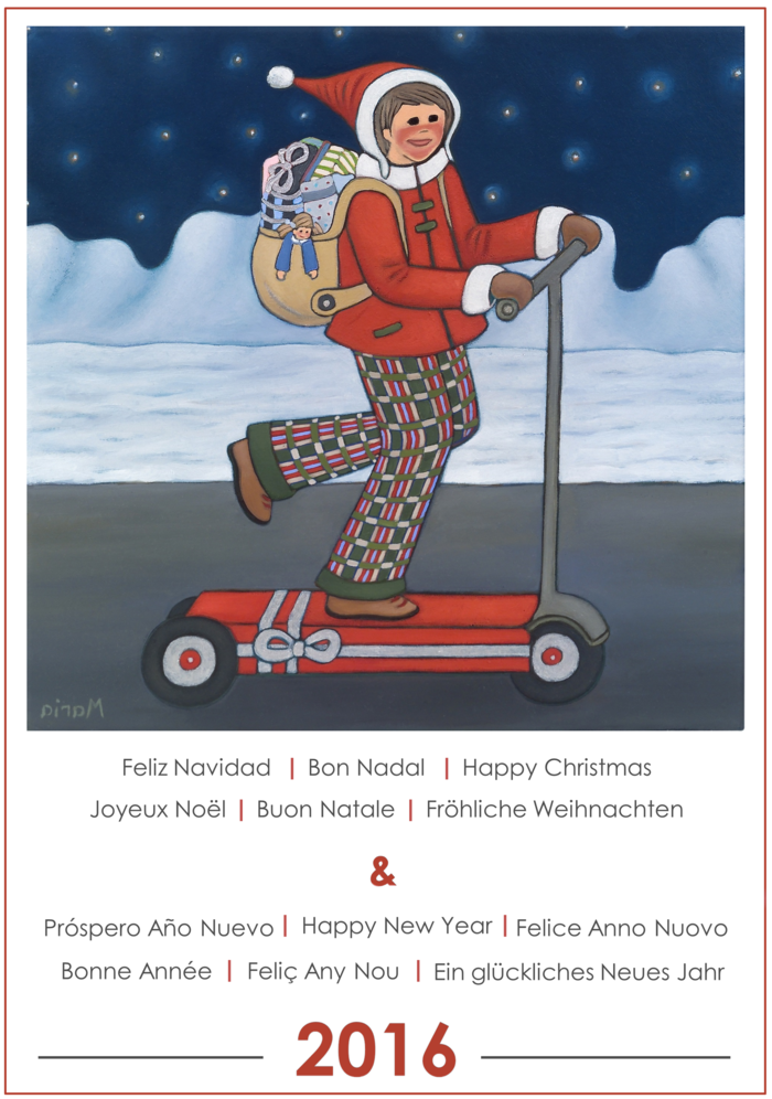 Happy Christmas by Maria Fatjo Pares
