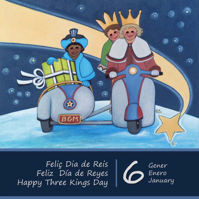 Feliç dia de Reis 2016 | Feliz día de Reyes 2016